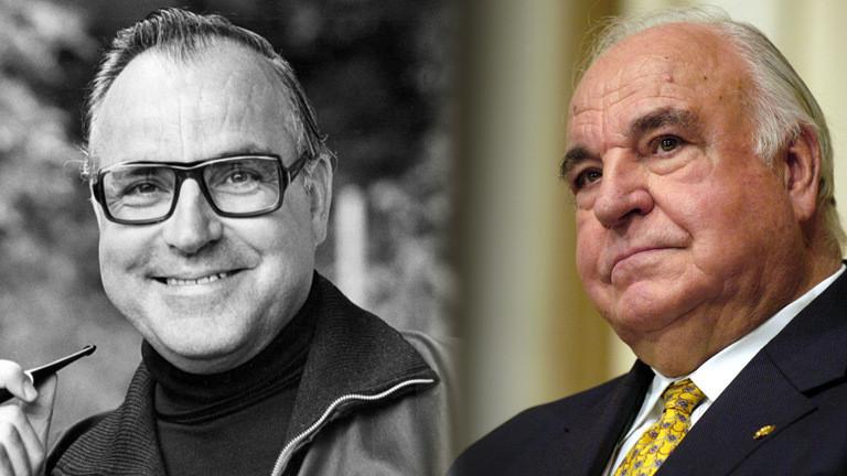 Altkanzler Helmut Kohl in verschiedenen Lebensphasen.