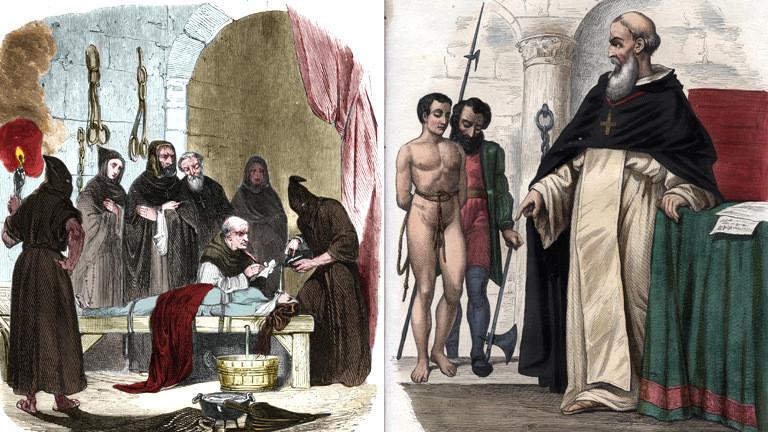 Spanische Inquisition.