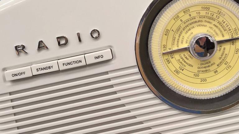 Ein altes Retro-Radio.