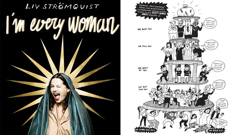 "Liv Strömquists neur Comic ""I'm every woman"""