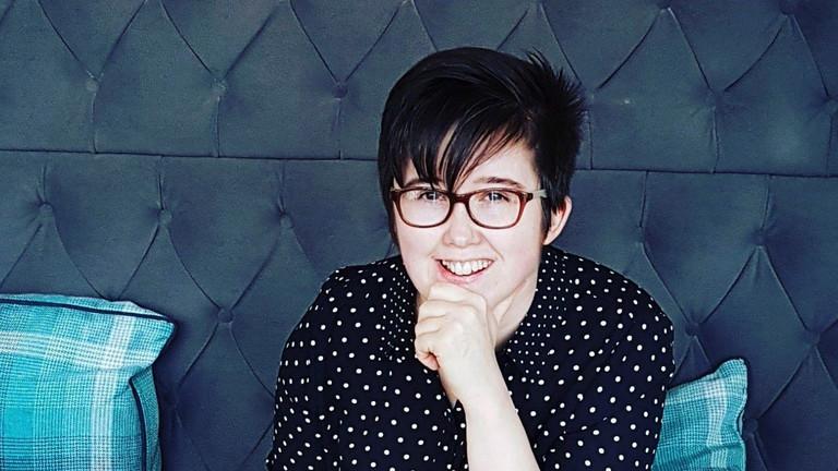 Die nordirische Journalistin Lyra McKee
