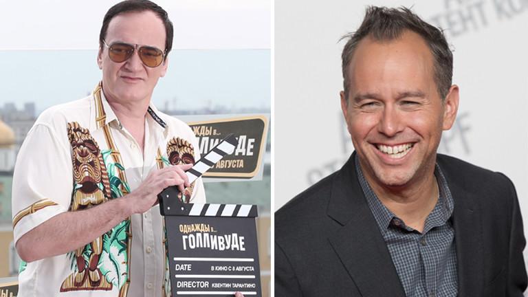 Quentin Tarantino und Jonas Rivera