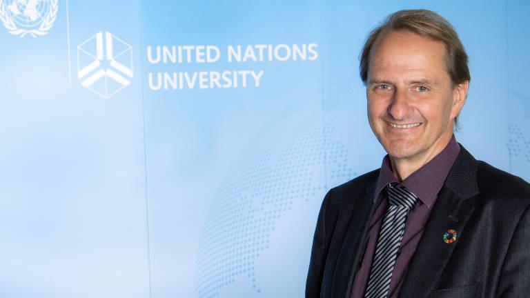 Dirk Messner, Präsident des Umweltbundesamtes