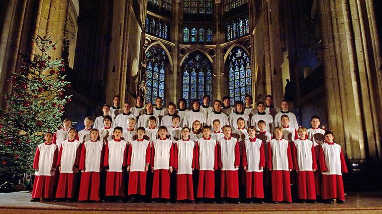 Die Regensburger Domspatzen bei einem Auftritt