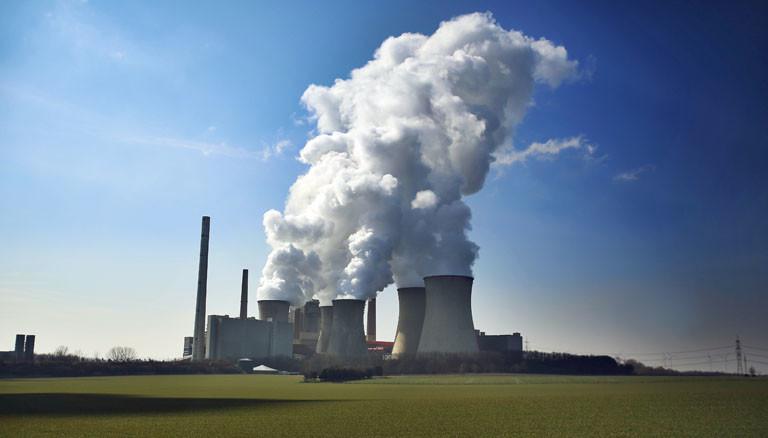Kohlekraftwerk von RWE