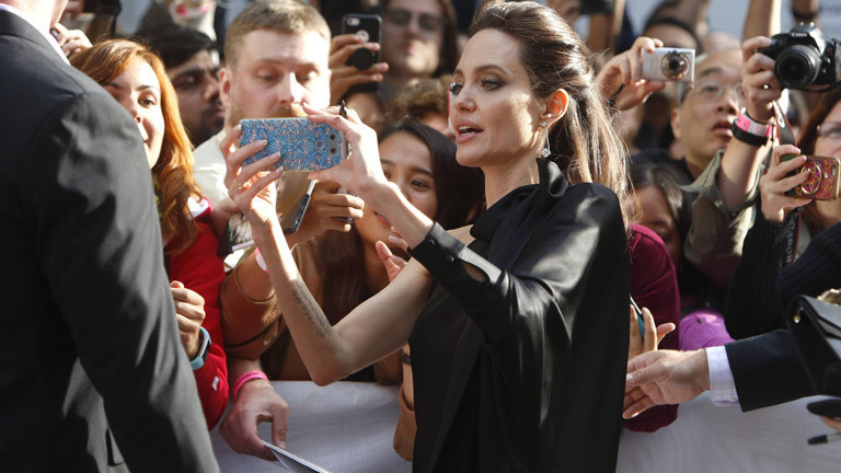 Angelina Jolie auf dem Toronto International Film Fest