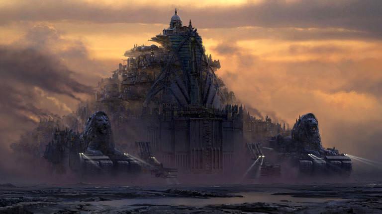 """Ausschnitt aus dem Film """"Mortal Engines"""""""