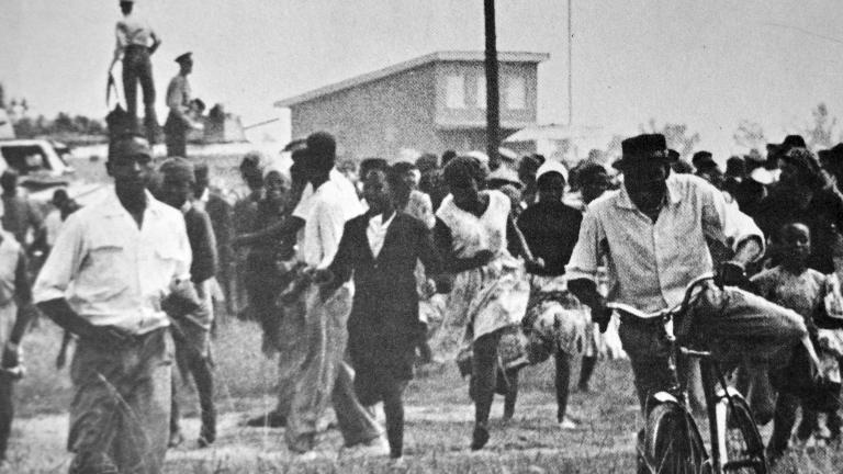 Das Massaker von Sharpeville 1960