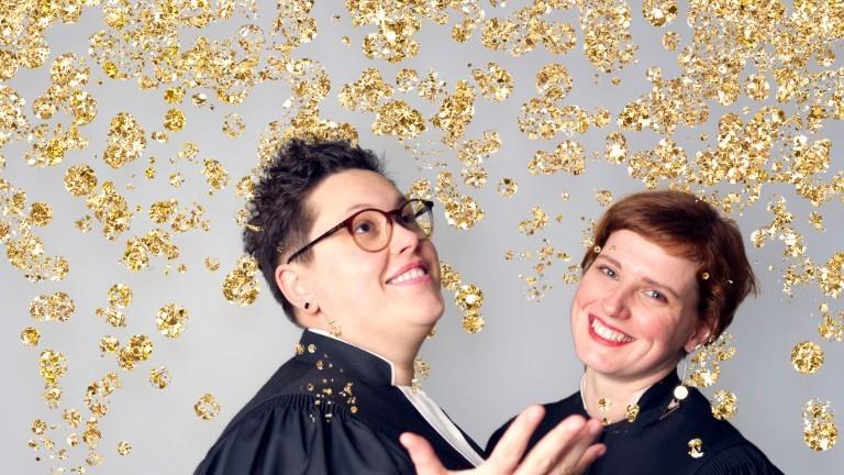 Die lesbischen Pastorinnen Ellen und Stephanie Radtke.