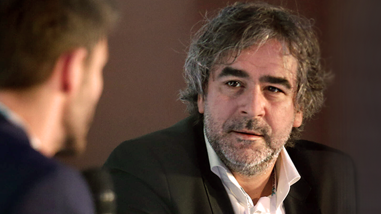 Deniz Yücel bei der Press Freedom Conference 2020 in Danzig 22.01.2020