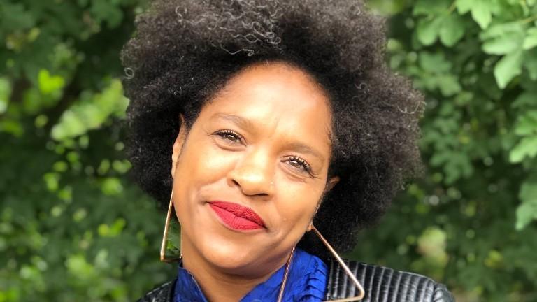 Porträt der Soziologin Natasha Kelly