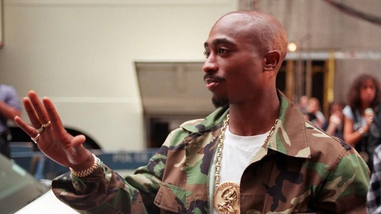 Der Rapper Tupac Shakur im September 1996, drei Tage, bevor er erschossen wird.