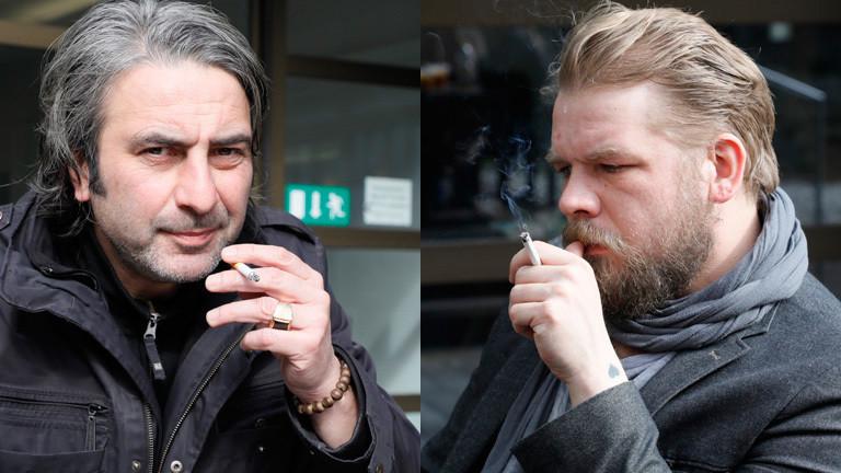 Armin Smailovic und Dirk Gieselmann