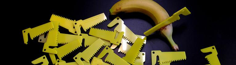 Ein Bananencutter