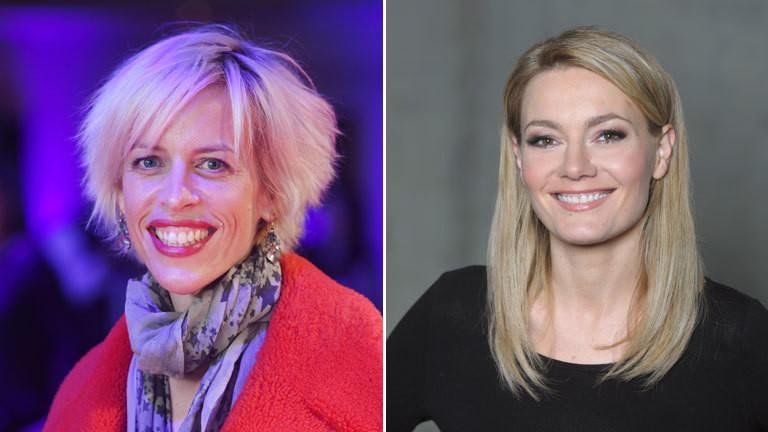Katja Eichinger und MArtina Hill