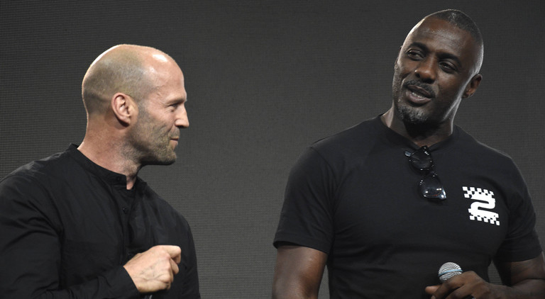 Jason Statham (links) und Idris Elba