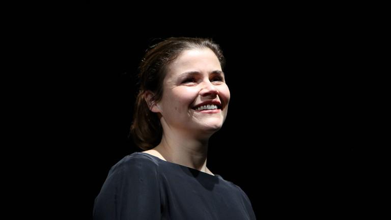 Katharina Wackernagel bei der Probe zum Stueck Westend (Premiere am 13.01.2019) am 11.01.2019 im Hamburger Kammerspiele Theater in Hamburg Westend