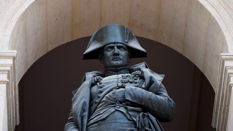 Napoleon-Statue in Paris