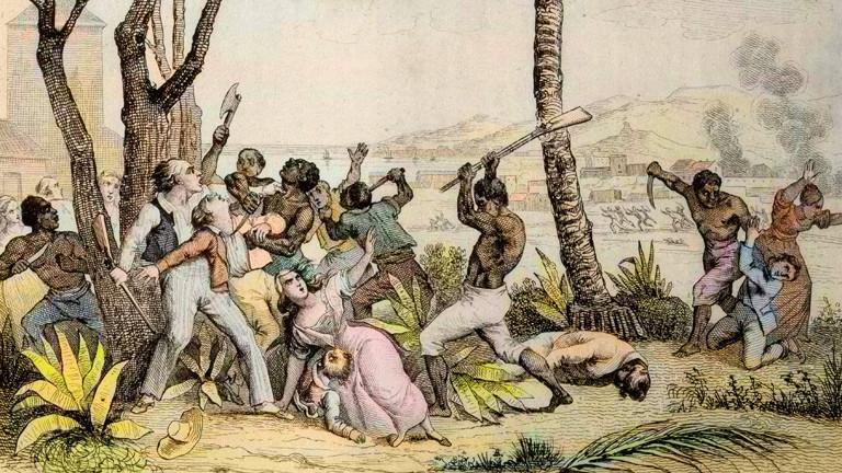 Aufstand Schwarzer gegen Weiße
