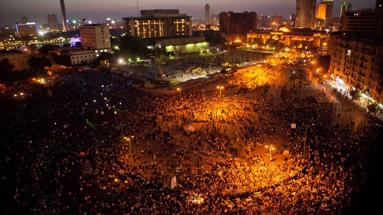 Tahrir Platz, Kairo, 2012