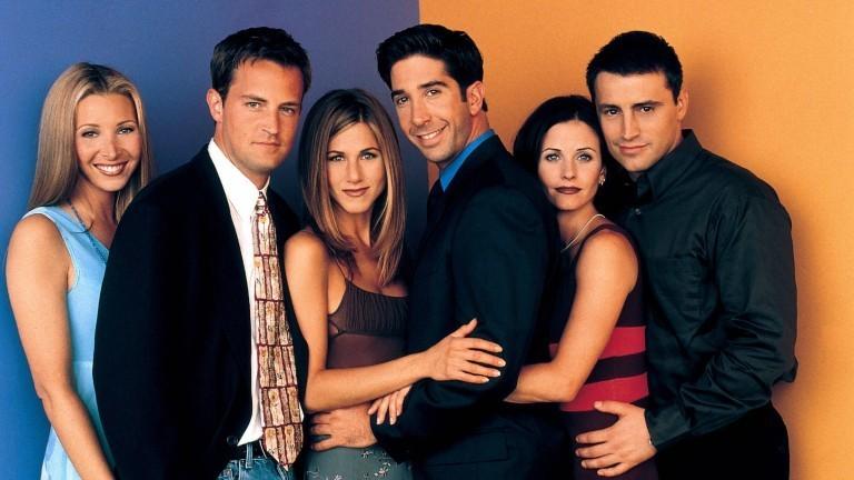 Friends Staffel 10: Lisa Kudrow, Matthew Perry, Jennifer Aniston, David Schwimmer, Courteney Cox & Matt Leblanc Characters: PHOEBE BUFFAY, CHANDLER BING, RACHEL GREEN, ROSS GELLER, MONICA GELLER & JOEY TRIBBIANI