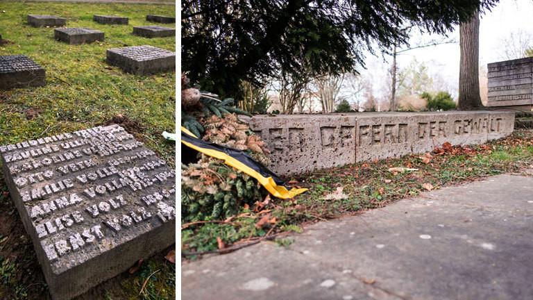 Am Hauptfriedhof Stuttgart erinnert ein Gräberfeld an 271 Euthanasieopfer.