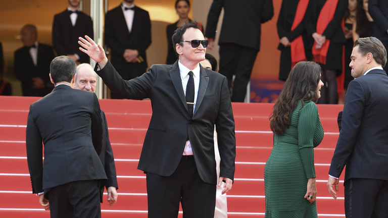 Quentin Tarentino 2019 in Cannes