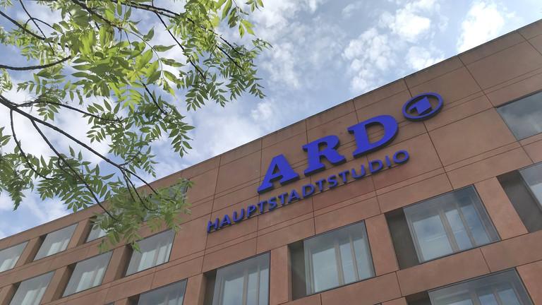 Das Gebäude vom ARD-Hauptstadtstudio in Berlin