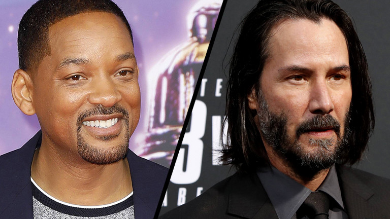 Will Smith (links) und Keanu Reeves