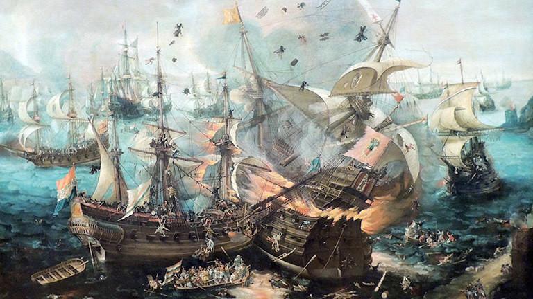 Schlacht zweier Schiffe