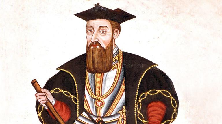 Gemälde von Vasco da Gama