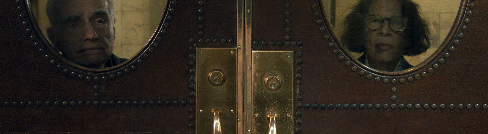 Scorsese hinter einer Tür