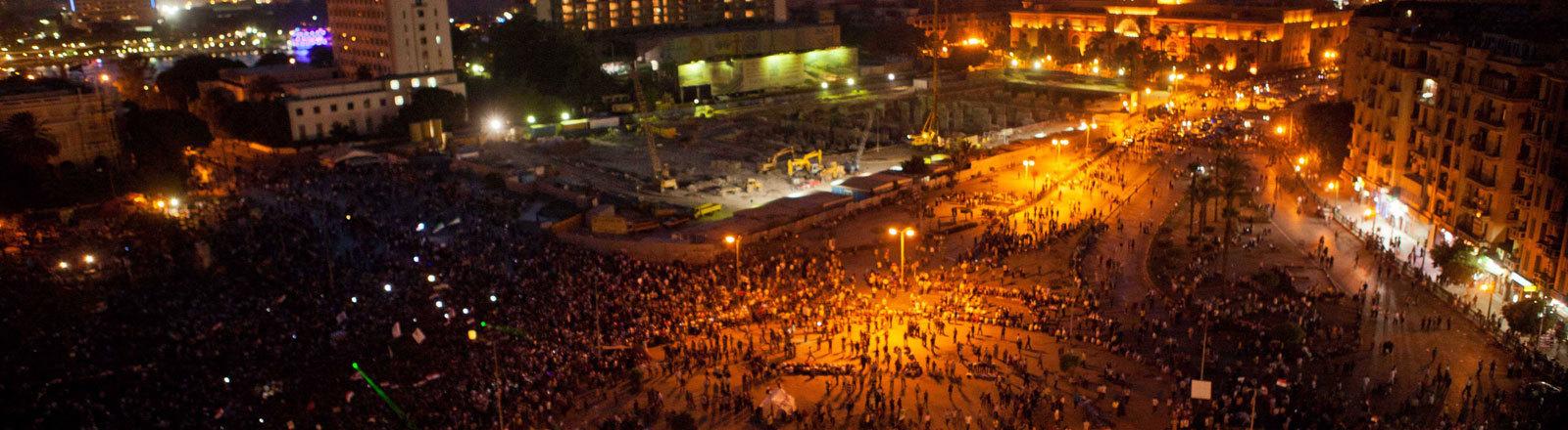 Tahrir Platz 2012, Kairo