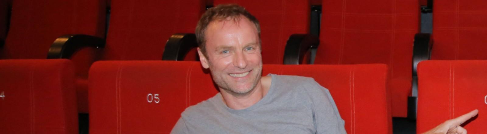 18.06.2020 Mark Waschke bei der Filmpremiere - Der Geburtstag - im Kino Luchskino am Zoo, Seebener Strasse 172, Halle / Saale.