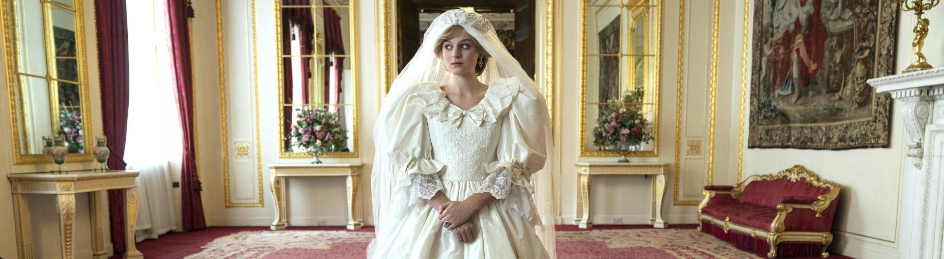 Filmstill aus der 4. Staffel der Serie The Crown, in der es um die Ära von Lady Diana geht.
