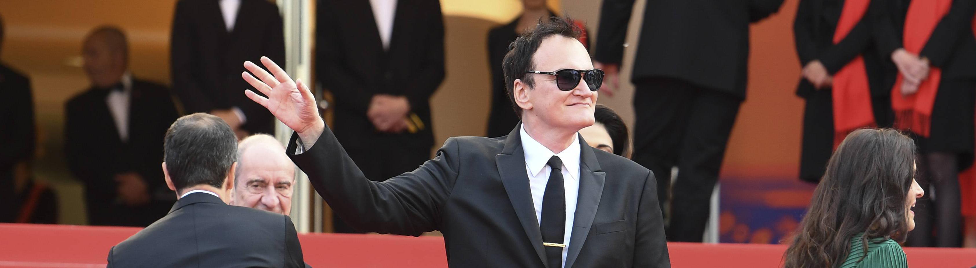 Quentin Tarentino 2019 in Cannes