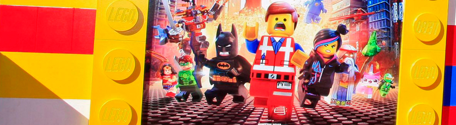 """Ein Plakat zum Film """"The Lego Movie""""."""