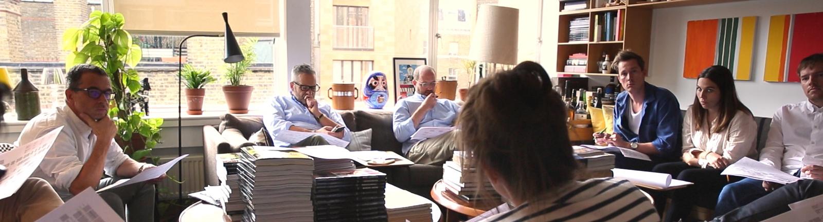 Die Monocle-Redaktionssitzung