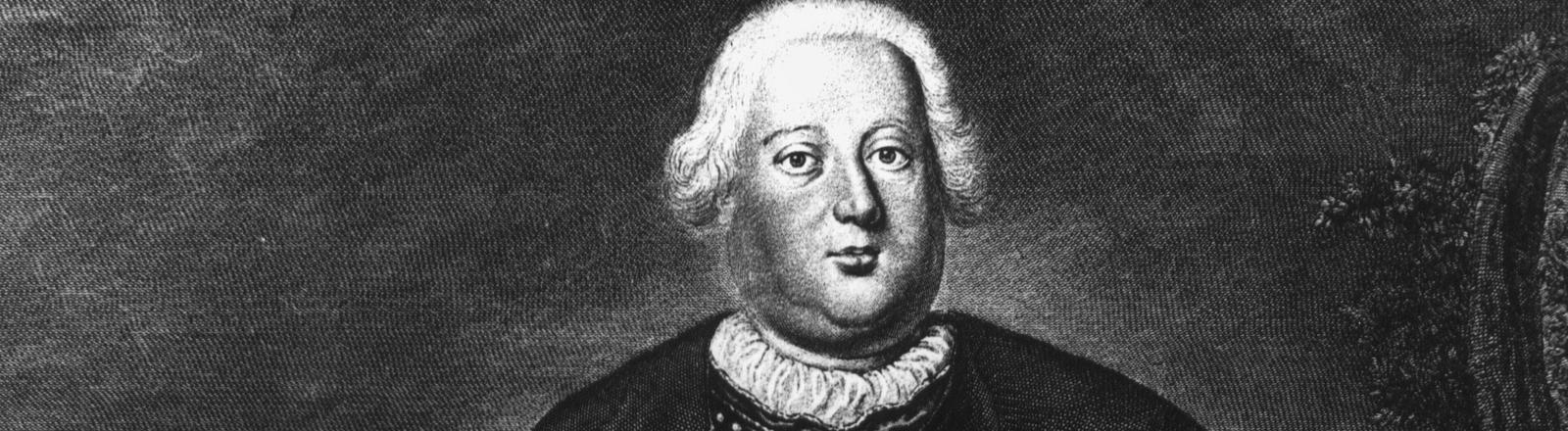 Kupferstich von Friedrich Wilhelm I.