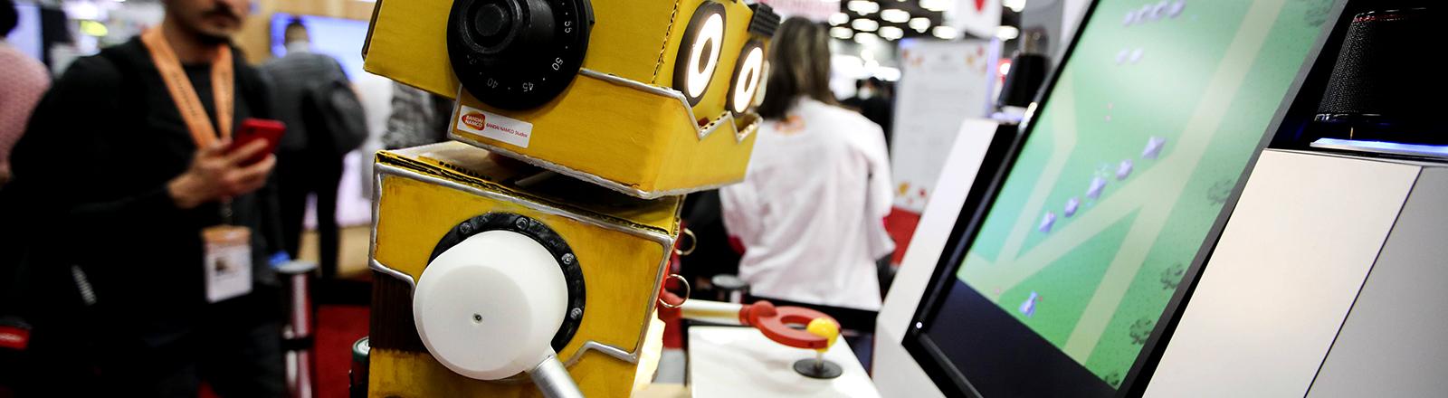 Roboter beim SXSW-Festival in Austin 2019.