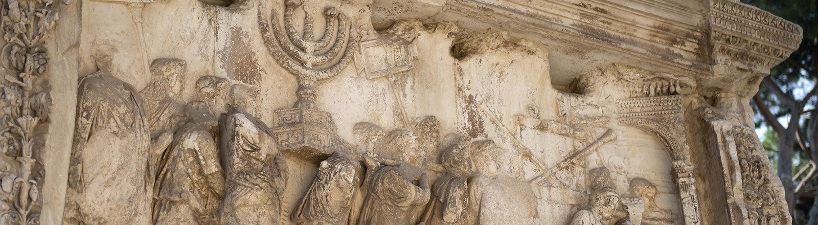 Der Titusbogen in Rom