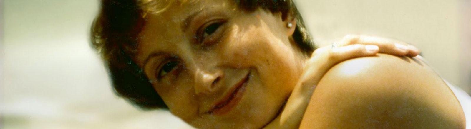 Trudel Ulmen lächelt in eine Kamera
