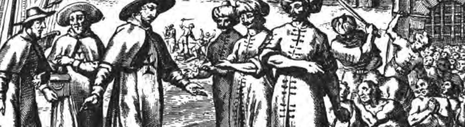 Christen kaufen Sklaven frei.