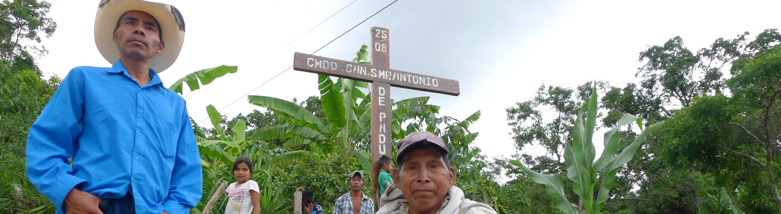 Zwei Bauern in Guatemala