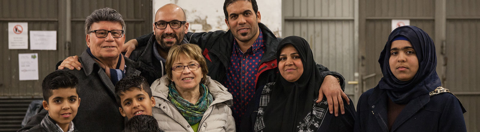 Nail Al Saidi und seine Familie