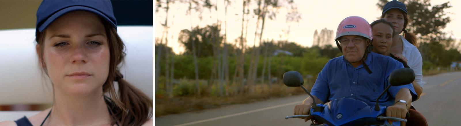 Carolin Genreith reist mit ihrem Vater nach Thailand, um seine Frau kennenzulernen.