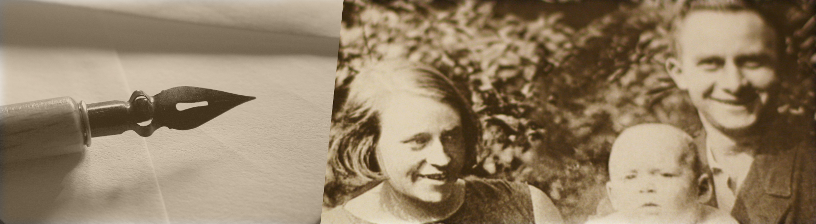 Stolze Eltern: Käthchen Hespers, Dietrich Franz Hespers, Theo Hespers