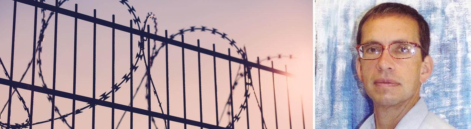 """Jens Söring, aufgenommen im Gefängnis """"Buckingham Correctional Center"""" in Dillwyn, Virginia, USA, im Jahr 2012. Seit über 20 Jahren sitzt der Deutsche Jens Söring im Gefängnis, verurteilt als Doppelmörder. Er beteuert seine Unschuld und hofft nun auf Hilfe - von der Kanzlerin und dem US-Präsidenten."""