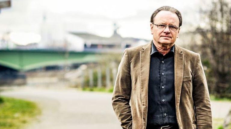 Der Journalist Wolfgang Kaes.