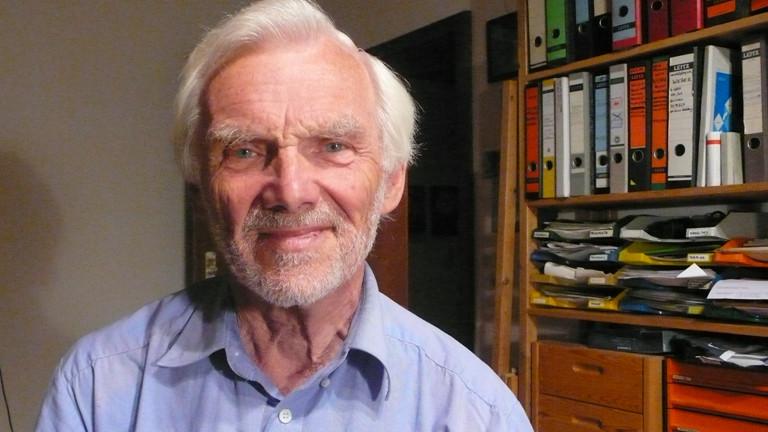 Helmut Unger ist als Kind aus der Tschechoslowakei vertrieben worden.